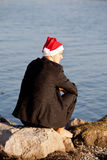 Cool santa claus Royalty Free Stock Photography