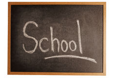 Cool the school Stock Image