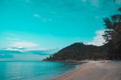 Koh Phangan island sea wallpaper. Cool sea wallpaper from koh Phangan island royalty free stock photos