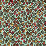Cool seamless pattern with leaves. Royalty Free Stock Photos