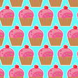 Cool seamless pattern sweets. Stock Photo