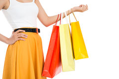 Cool shopping Royalty Free Stock Photography