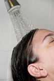 Cool shower Stock Photo