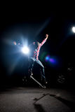 Cool Skateboarder Guy Stock Photo
