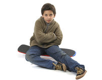 Cool skater boy Royalty Free Stock Image