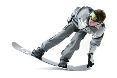 Cool snowboarder Stock Photos
