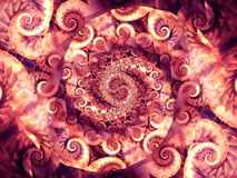 Cool Spirals Swirls Textures Royalty Free Stock Photos