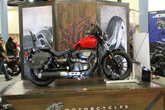 Cool Star motorcycle on display Stock Photo