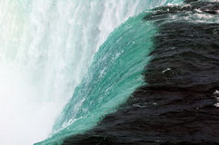 The cool stream. Niagra falls cool water stream royalty free stock photography