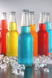 Cool summer drinks with ice Royalty Free Stock Images