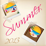Cool summer wallpaper with pictures Stock Photos