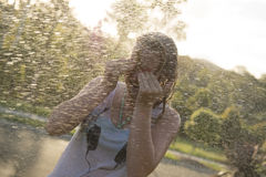 Cool summertime fun. Stock Photography
