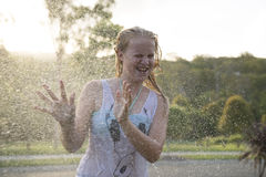 Cool summertime fun. Royalty Free Stock Photography
