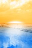 Cool sunrise Stock Image