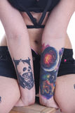 Cool tattoos Stock Photography