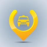 Cool taxi gps pointer Royalty Free Stock Photos