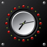 Cool technology design  clock Stock Images