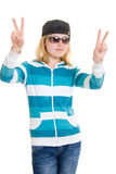 Cool Teen Royalty Free Stock Photo