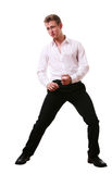 Cool teen dancing Royalty Free Stock Photos