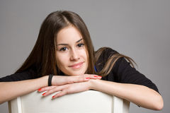Cool teen girl. Stock Images