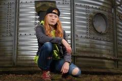 Cool teenage girl Royalty Free Stock Photo