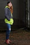 Cool teenage girl Royalty Free Stock Image