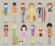 Free Cool Teenagers. Royalty Free Stock Image - 54085286