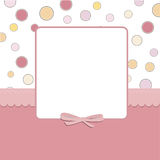 Cool template frame design for greeting card Stock Photos