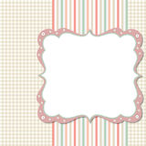 Cool template frame design for greeting card Royalty Free Stock Images