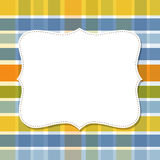 Cool template frame design for greeting card Stock Photo