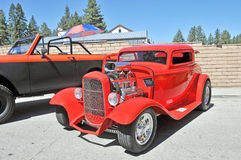 Cool three Window Coupe Stock Image