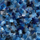 Cool tiled background in blue spectrum Stock Photo