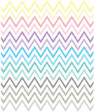 Cool Vintage Colorful Pattern. Vector Art Stock Photos