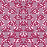 Cool pink violet lace motive  pattern Stock Photo