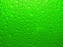 Cool water droplets, drops, bubbles Stock Image