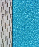 Cool water in swimming pool Royalty Free Stock Photos