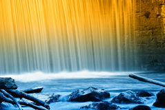 Cool waterfall Royalty Free Stock Photo