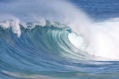 Cool wave. A wave breaks along the shore Royalty Free Stock Photography