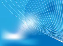 Cool Waves. Blue cool waves abstract background Royalty Free Stock Image