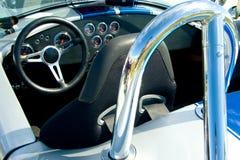 Vintage car interior Royalty Free Stock Photo