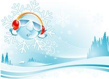 Cool Winter Christmas Stock Image