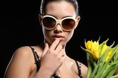 Cool woman Royalty Free Stock Photos