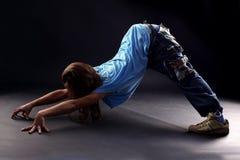 Cool woman modern dancer Stock Photos