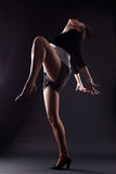 Cool woman modern dancer Royalty Free Stock Images
