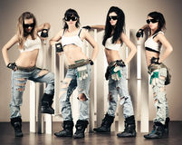 Cool women workers Royalty Free Stock Photography
