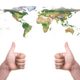 Cool world. Cool this world we live in Stock Images