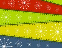 Cool Xmas Paper Background royalty free illustration