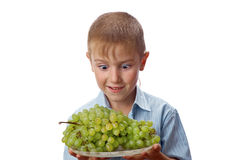 Cool 7 year old boy Royalty Free Stock Image