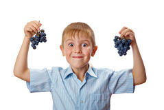Cool 7 year old boy Royalty Free Stock Photography