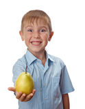 Cool 7 year old boy Stock Photo
